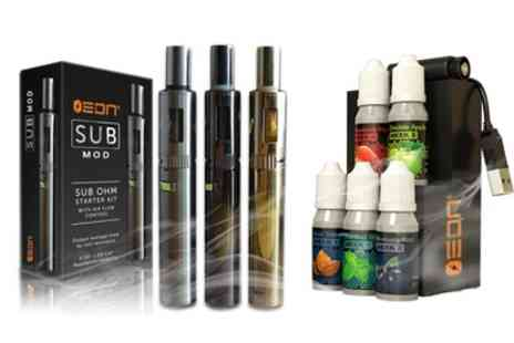 WE ARE TECHNOLOGY - Five Piece E ON Max Proton MOD Vaporizer with Subxero Technology in Black Silver or Gold - Save 60%