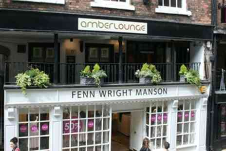 Amber Lounge . - Up to £150 to Spend on Food and Drinks - Save 0%