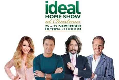 Ideal Home Show - One weekday or weekend afternoon entry to Ideal Home Show on 25 - 29 November - Save 0%