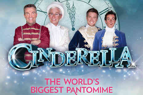 Ingresso - Tickets to Cinderella The Worlds Biggest Pantomime - Save 0%