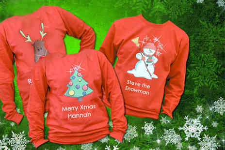 YourDesign - Personalised unisex Christmas sweatshirt  - Save 45%