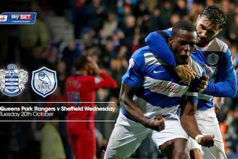 QPR FC - Tickets to see QPR v Sheffield Wednesday on 20 October 2015 - Save 46%