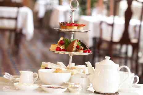 Hilton London Canary Wharf - Afternoon Tea with Optional Champagne Cocktail for Two  - Save 24%