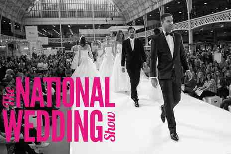 National Wedding Show - Ticket to The National Wedding Show on 24 or 25 October