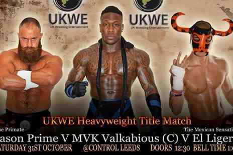 UKWE WRESTLING - UK Wrestling Entertainment: Halloween Voltage  - Save 60%