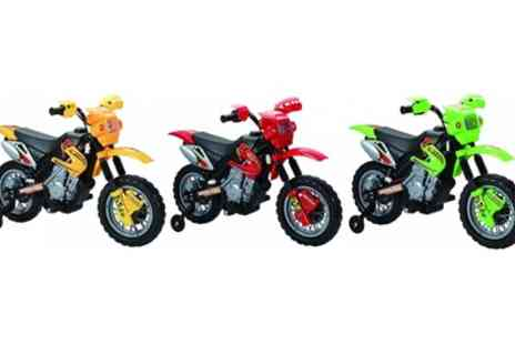 Scream Wholesale - 6V Kids Ride On Mini Dirt Bike in Choice of Colour  - Save 53%