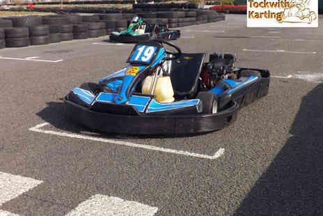 Tockwith Karting - 15 Minute Go Karting Experience for One - Save 0%