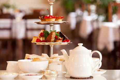 The King James Hotel - Afternoon Tea with a Glass of Prosecco for Two  - Save 37%