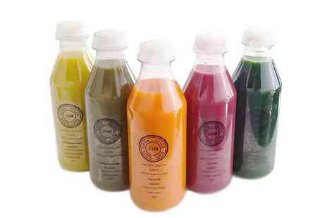 Love Juice Love Life - Juice Cleanse of Choice for 3  - Save 62%
