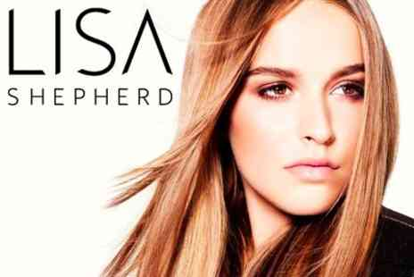 Lisa Shepherd - Haircut, Blow Dry and Choice of Half Head of Highlights or Semi-Permanent Colour Gloss - Save 69%
