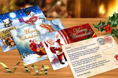 dinkleboo - Personalised Post Card from Santa - Save 60%