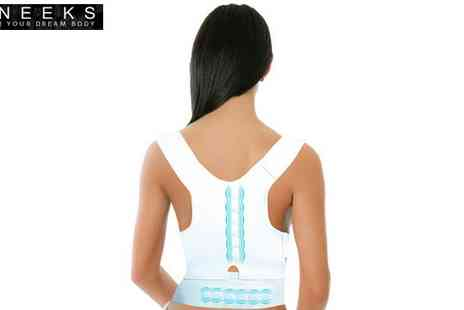 Aneeks - Adjustable Posture Corrective Therapy System - Save 68%
