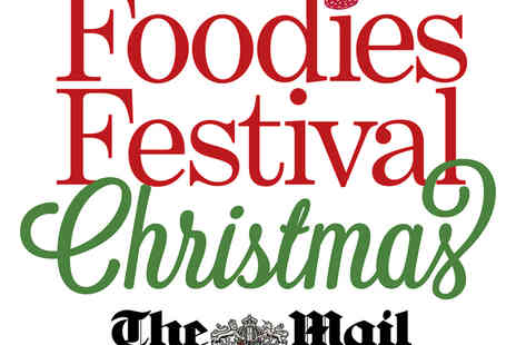 Foodies Festival - Two Tickets to the Foodies London Christmas Festival with a VIP Option - Save 41%