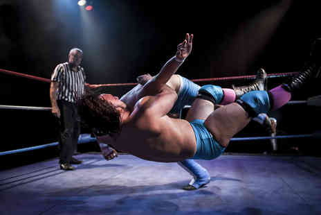 LDN Wrestling - Ticket to see LDN Wrestling live for two tickets a family ticket - Save 57%