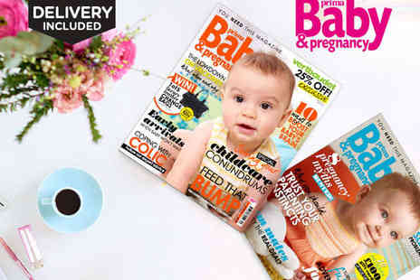Buy subscriptions  - Seven Issue Subscription to Prima Baby & Pregnancy - Save 39%