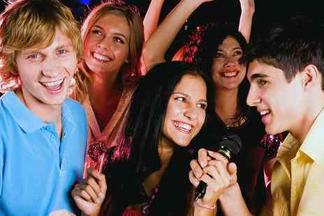 SingCity - Private Karaoke Room For Five - Save 89%