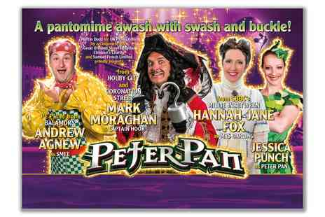 Malvern Theatres - Ticket to Christmas Pantomime Peter Pan  - Save 44%
