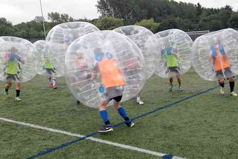 The Future Games - Bubble Football War Party for Eight - Save 41%