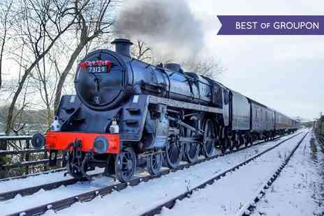 Midland Railway Trust - Family Ticket for a Santa Special Train Ride with Gifts  - Save 50%