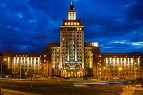 Hotel International Prague - One to Three Nights stay For Two With Full Buffet Breakfast  - Save 0%