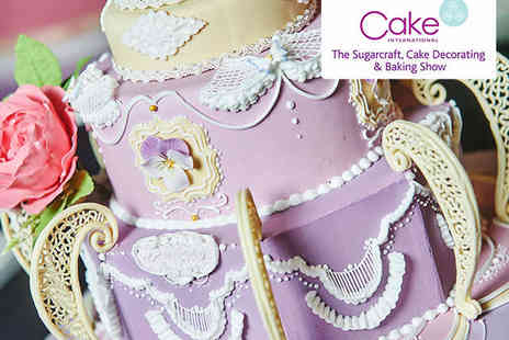 NEC - Ticket to Cake International on November 6, 7, or 8 - Save 0%