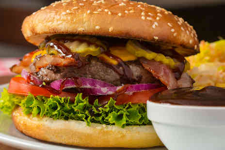 The Tank - Gourmet Burger and Sides for Two - Save 52%