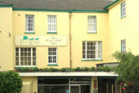 Ivy Bush Royal Hotel - One night stay for two in Carmarthen- Save 62%