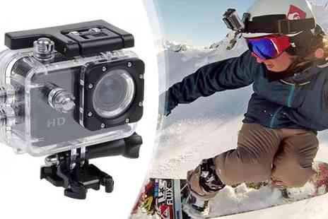 Eskkay - Waterproof HD Action Sports Camera - Save 82%
