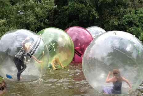 Pump it up Events - Winter Water Zorbing Session for One - Save 50%