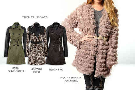 Top Notch Fashion Designer  - Womens coat   - Save 78%