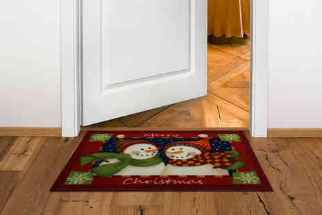 The Rug Shop -  Christmas themed doormat in a choice of four designs  - Save 83%