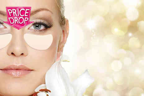 Look Good Feel Fabulous -  50 gold collagen eye masks - Save 94%
