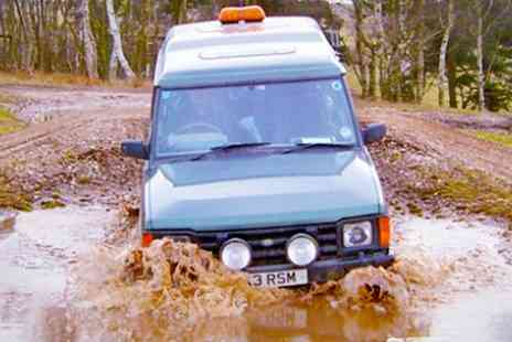 Nottingham Off Road Events - Sessions of 4x4 Off Road Driving Experience for Up to Four - Save 33%