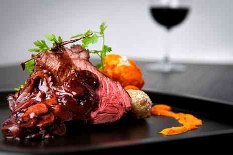 The Fox & Hounds - Two Course Meal with a Glass of Wine for Two  - Save 49%
