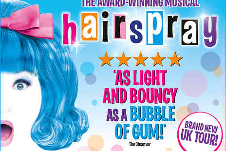 ATG Tickets - Hairspray Tickets Starring Claire Sweeney - Save 10%