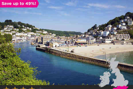 The Snooty Fox - One or Two night stay for two in Cornwall - Save 49%