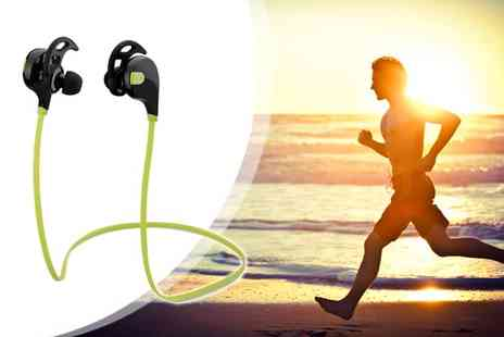 Stylematch Online - Swift Bluetooth Wireless Sports Earphones - Save 60%