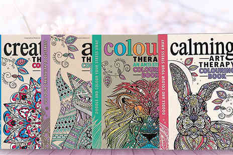Bangzo - Adult Colouring Art Therapy Books - Save 46%