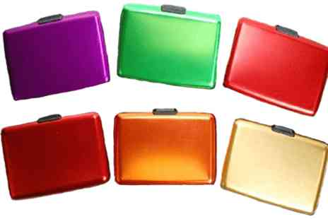 Fish called Geoff - Two Aluminium Wallets - Save 62%