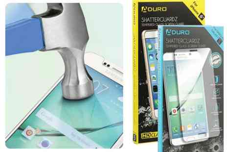 Mobile Star LLC - Aduro ShatterGuardz Tempered Glass Screen Protector for Smartphones - Save 70%
