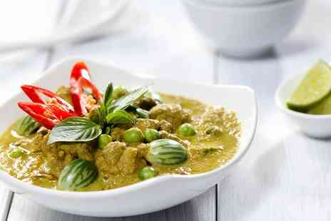 The Thai House Restaurant - Three Course Thai Meal for Two - Save 46%