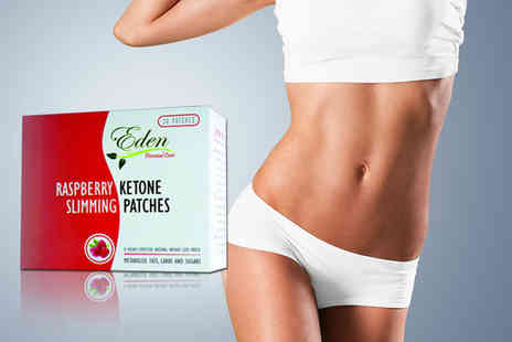 Eden Organic Care - One month supply of raspberry ketone tummy patches - Save 78%