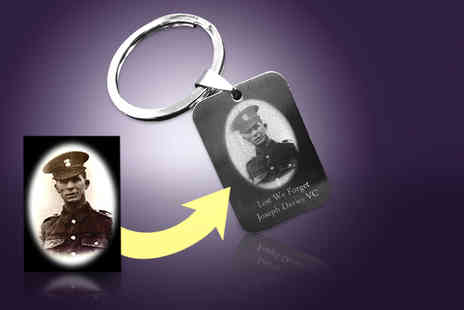 Cian Jewels - Personalised photo keyring - Save 87%