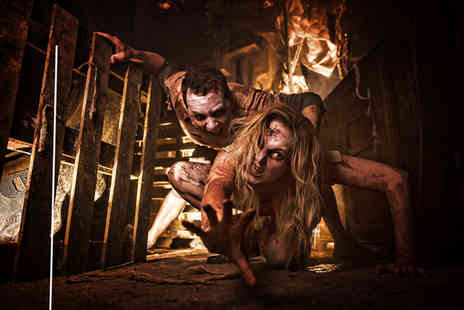 Mead Open Farm -  X Scream pass to Tulleys The Howl Scream Park including access to all five haunts live street theatre - Save 62%