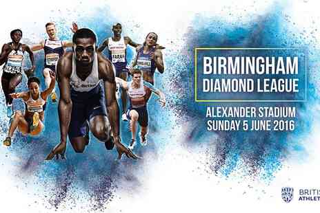 BRITISH ATHLETICS -     Ticket to Birmingham Diamond League meeting on 5 June - Save 0%
