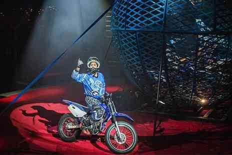 Planet Circus - One ticket to Planet Circus 21 to 30 October - Save 52%