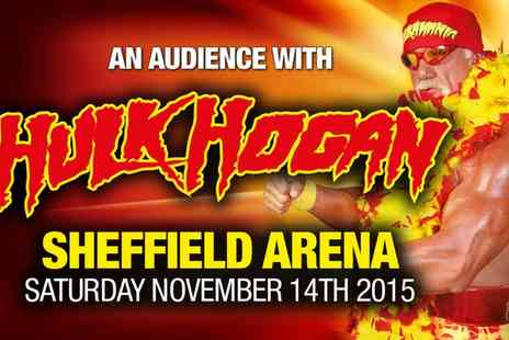 Simply Prestige - Ticket to an Evening with Hulk Hogan on 14 November - Save 57%