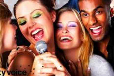 Lucky Voice Private Karaoke - Karaoke voucher worth up to £60 - Save 62%