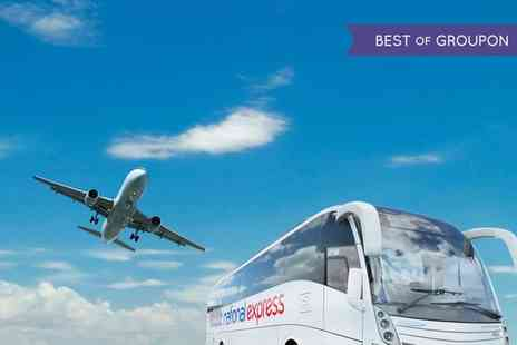 National Express - London to Stansted Airport One Way or Return Bus Ticket For One - Save 38%