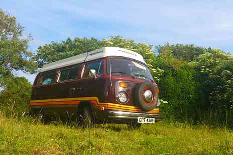 Wye Aye Van - Three or Seven Night Vintage VW Camper Van Hire For 2  - Save 55%